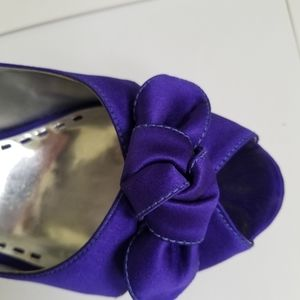 Gianni Bini Lux512 Purple Heels Pumps